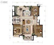 滨江旭辉・万家之星3室2厅2卫108平方米户型图