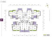 珑山居3室2厅2卫97--100平方米户型图