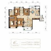 仁恒滨海半岛4室2厅2卫149--150平方米户型图
