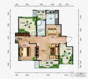 芭东海城1室2厅1卫94平方米户型图