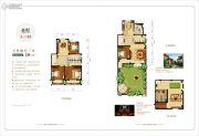 香溪左岸5室2厅3卫230平方米户型图