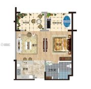 阅麓0室0厅0卫80平方米户型图