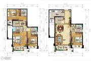 IBOX-部落阁4室2厅4卫102平方米户型图