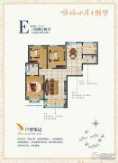 锦林水岸3室2厅2卫0平方米户型图