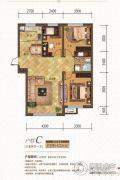 金汇豪庭3室2厅1卫96--102平方米户型图