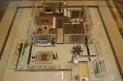 恒裕滨城二期3室2厅2卫113平方米户型图