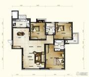 新华联运河湾3室2厅2卫151平方米户型图