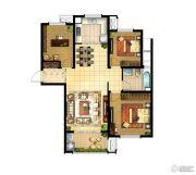 华润国际社区3室2厅1卫119平方米户型图