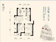 枫丹雅墅2室2厅1卫0平方米户型图