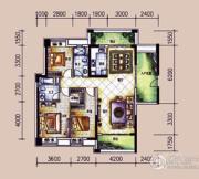 �L凰68院3室2厅2卫142平方米户型图