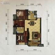 金地艺境3室2厅1卫111平方米户型图