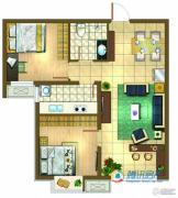 新天地美域2室2厅1卫0平方米户型图