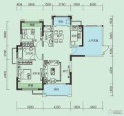 大洋五洲3室2厅2卫110平方米户型图