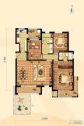 鸿坤・凤凰城3室2厅2卫142平方米户型图