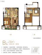保利・叁仟栋4室1厅3卫0平方米户型图