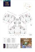 奥园文化旅游城 韶关印象岭南3室2厅2卫110平方米户型图