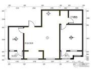 亿达欣园2室2厅1卫0平方米户型图