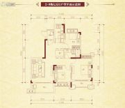 恒大名都3室2厅1卫108平方米户型图