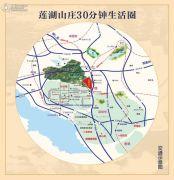 莲湖山庄交通图