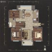 越秀星汇云锦3室2厅2卫145平方米户型图