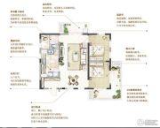 万科青岛小镇2室2厅1卫83平方米户型图