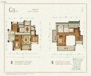 九洲绿城・翠湖香山5室2厅3卫212--218平方米户型图