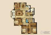 绿城・海棠湾4室2厅2卫250平方米户型图
