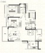 奥园香雪华府3室2厅2卫108平方米户型图