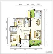 圣城华府3室2厅0卫0平方米户型图