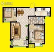 安泰・未来城2室2厅1卫79平方米户型图