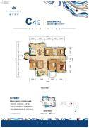 丽江东岸5室2厅2卫154平方米户型图