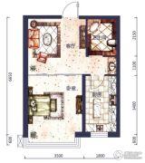 城市之星1室1厅1卫0平方米户型图