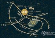 雅居乐御龙山交通图