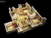 金丽园3室1厅1卫88平方米户型图