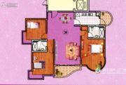 金河湾豪庭3室2厅2卫0平方米户型图