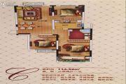 汇金原香3室2厅1卫114--115平方米户型图