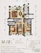 保利天骄3室2厅3卫170平方米户型图