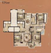 立体城5室2厅2卫171平方米户型图