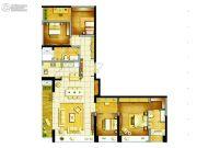 东方希望天祥广场天荟4室2厅2卫172平方米户型图
