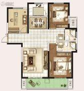 永威城3室2厅2卫127平方米户型图