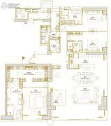 环球西安中心4室1厅4卫425平方米户型图
