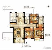 华润国际社区3室2厅2卫128平方米户型图