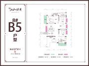 兴达・江山领秀3室2厅2卫0平方米户型图