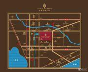 保利中央公馆交通图