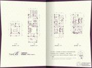 鹏润城墅245平方米户型图