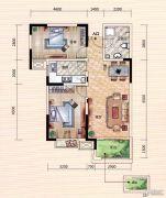 世界城2室2厅1卫77--85平方米户型图