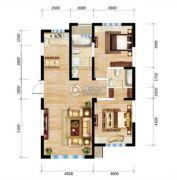 三江・尊园2室2厅2卫114平方米户型图