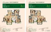 碧桂园・城市花园3室2厅2卫142--144平方米户型图