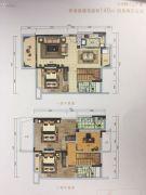悦澜山0室0厅0卫140平方米户型图