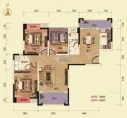 乾通・时代广场3室2厅2卫126平方米户型图